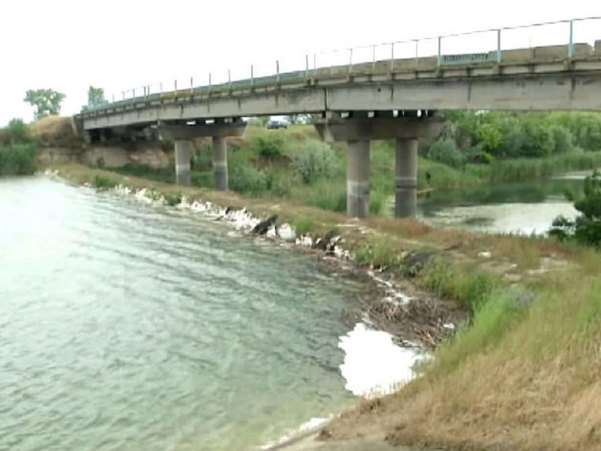 Минприроды вода Северо-крымский канал