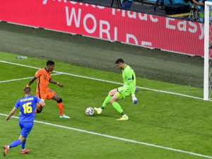 Нидерланды обыграли сборную Украины в матче Евро-2020