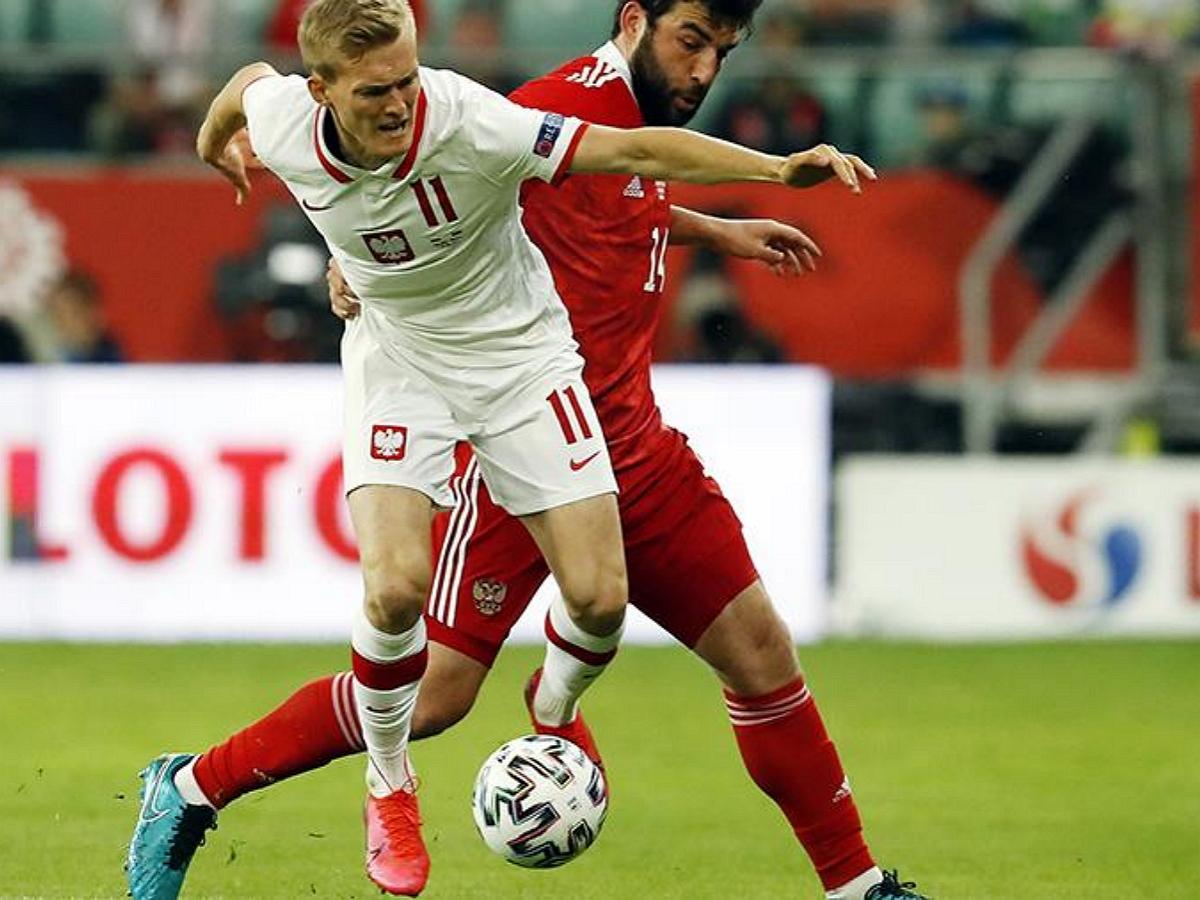 Сборная России по футболу сыграла вничью с командой Польши в товарищеском матче
