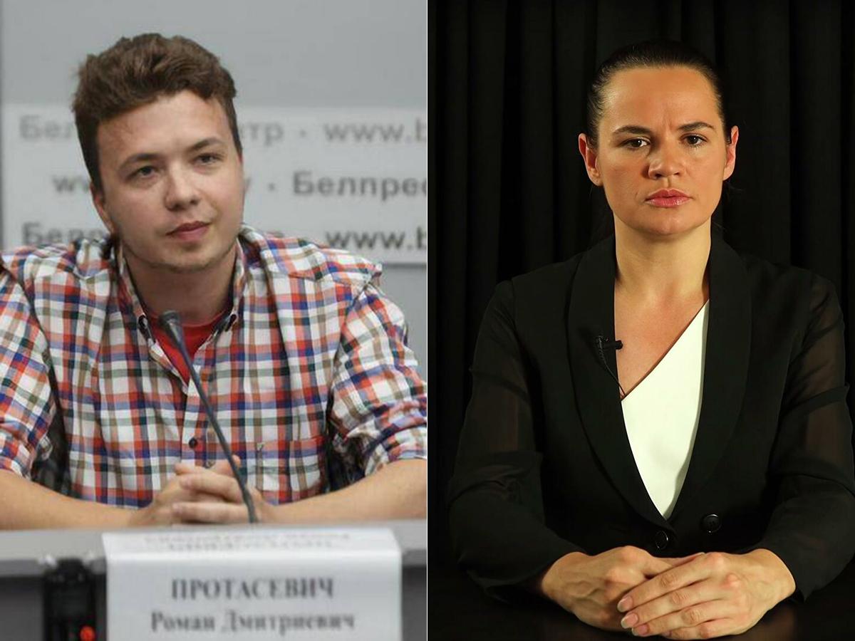 Протасевич Тихановская