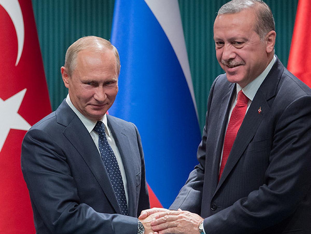 Путин и Эрдоган