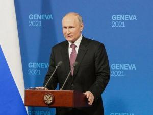 Пресс-конференция Путина в Женеве