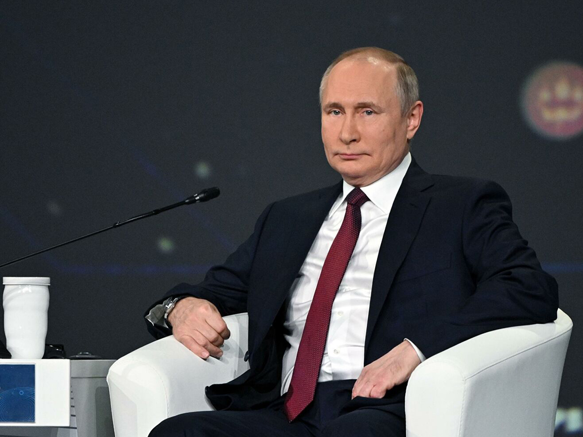 Путин акции Газпрома