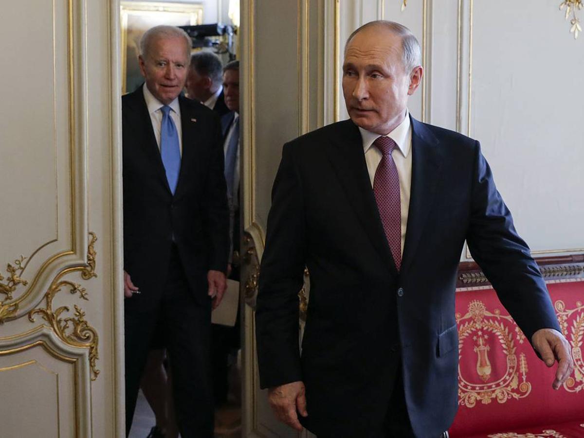 Путин Байден