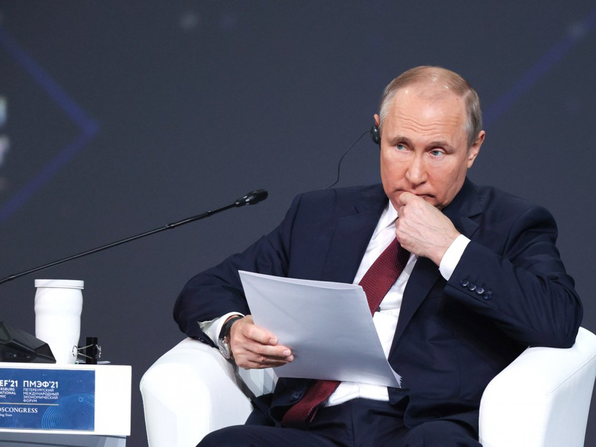 Путин ПМЭФ