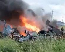 Под Петербургом разбился вертолет Росгвардии: трое погибших