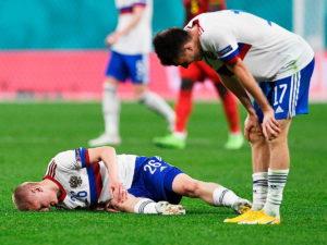 Россия проиграла Дании, потеряв шанс на выход в плей-офф