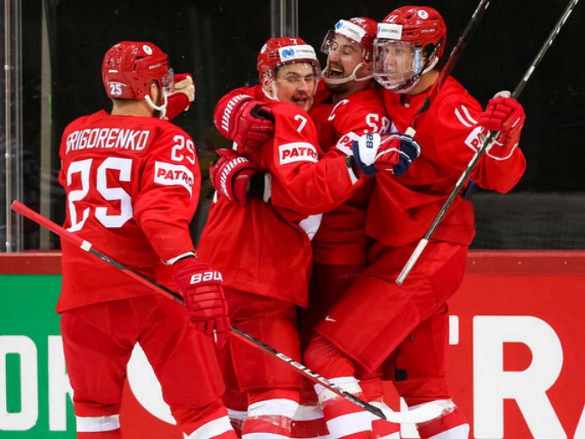 Россия, разгромив Белоруссию, вышла в плей-офф ЧМ-2021 по хоккею с первого места в группе A