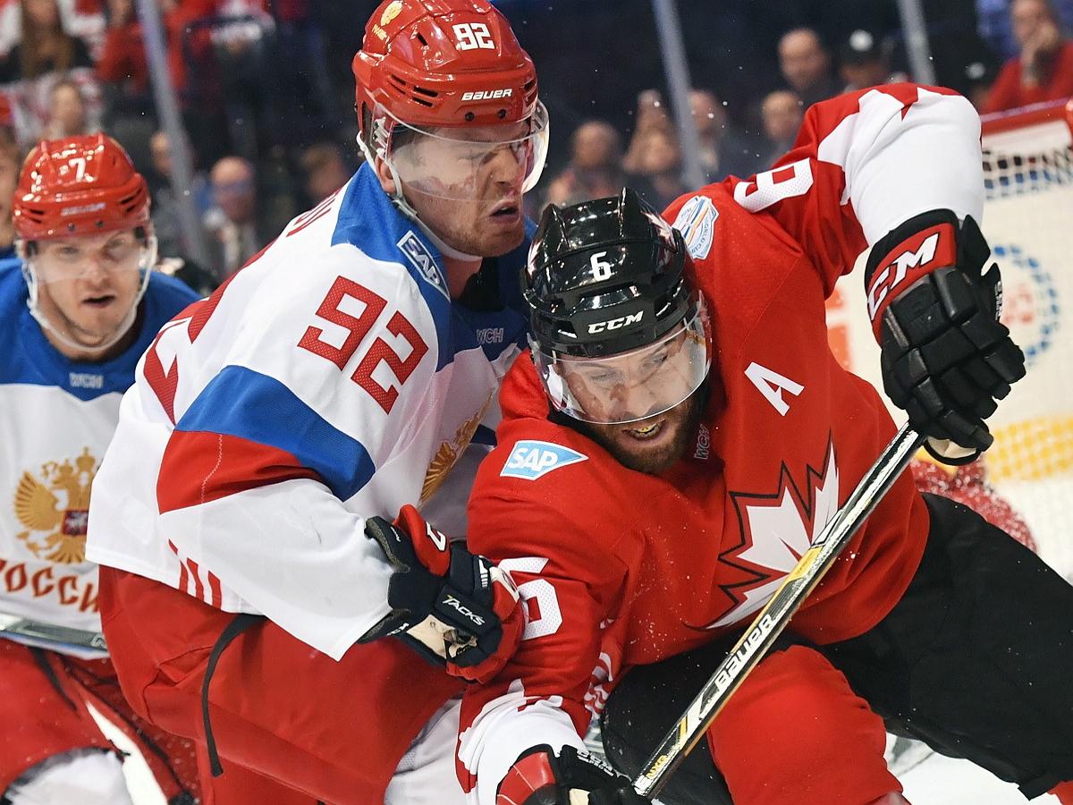 Россия вылетела с ЧМ-2021 по хоккею, проиграв Канаде в овертайме 1/4 финала