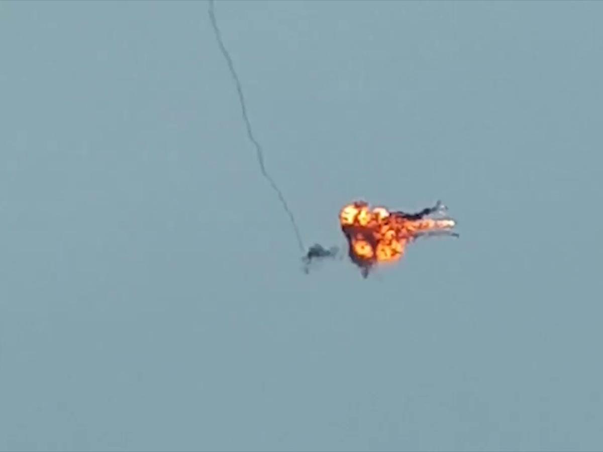 Уничтожение самолета в Нагорном Карабахе