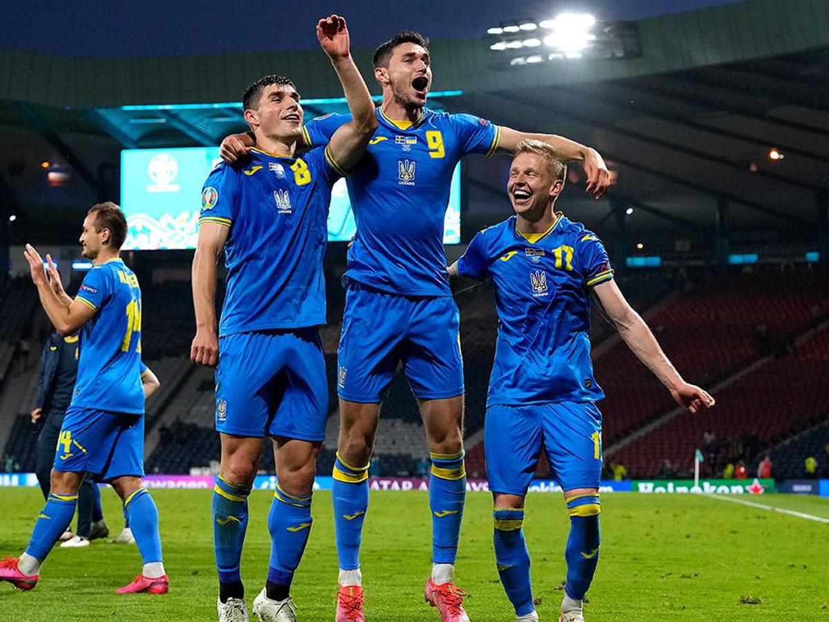 Сборная Украины обыграла Швецию