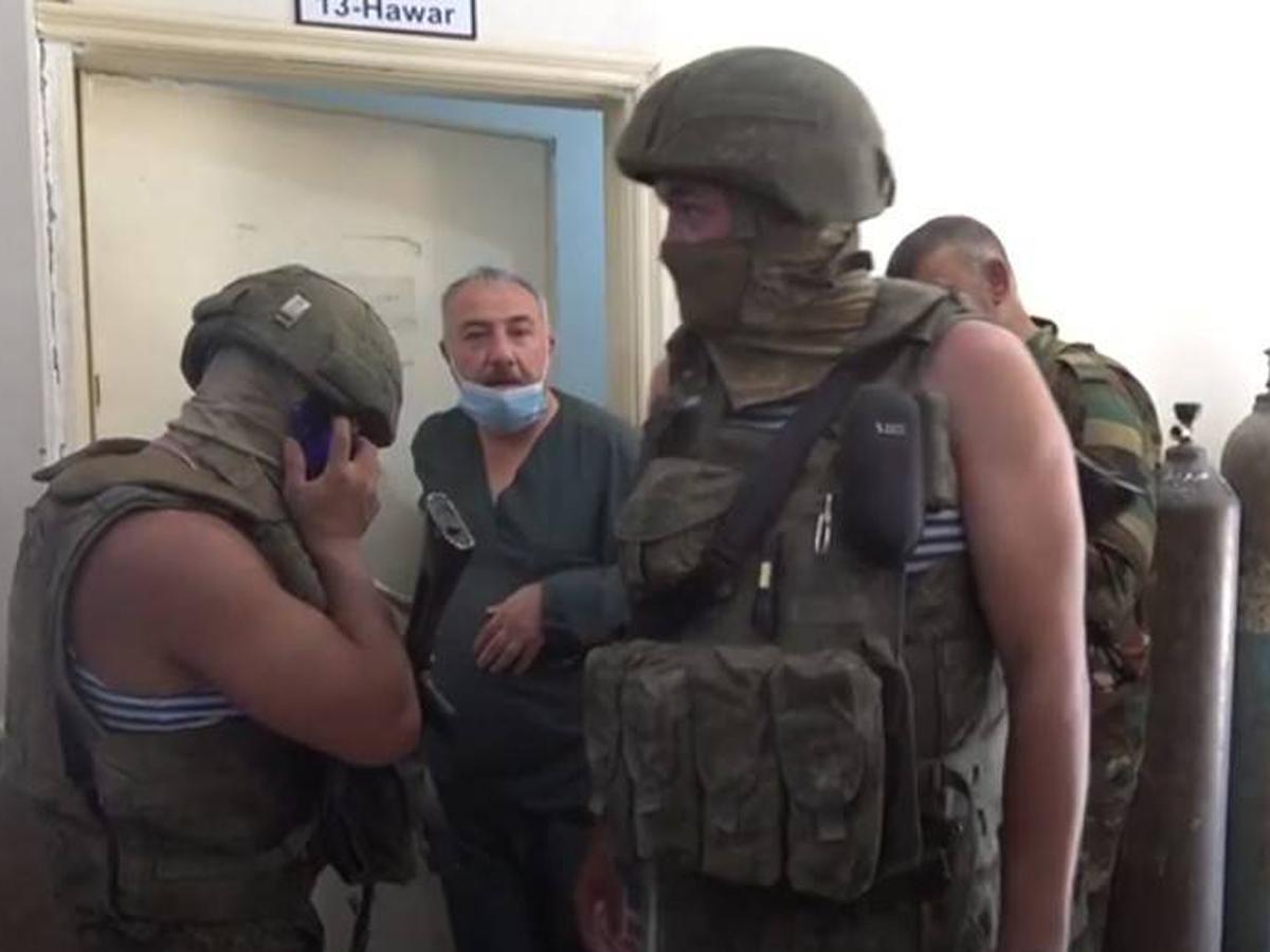 Сирия ранение трое россиян