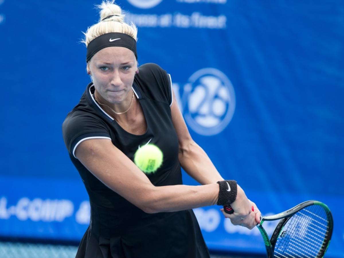 Российскую теннисистку Сизикову задержали по подозрению в участии в договорном матче