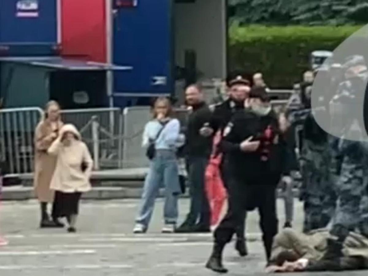 Стрельба на Красной площади