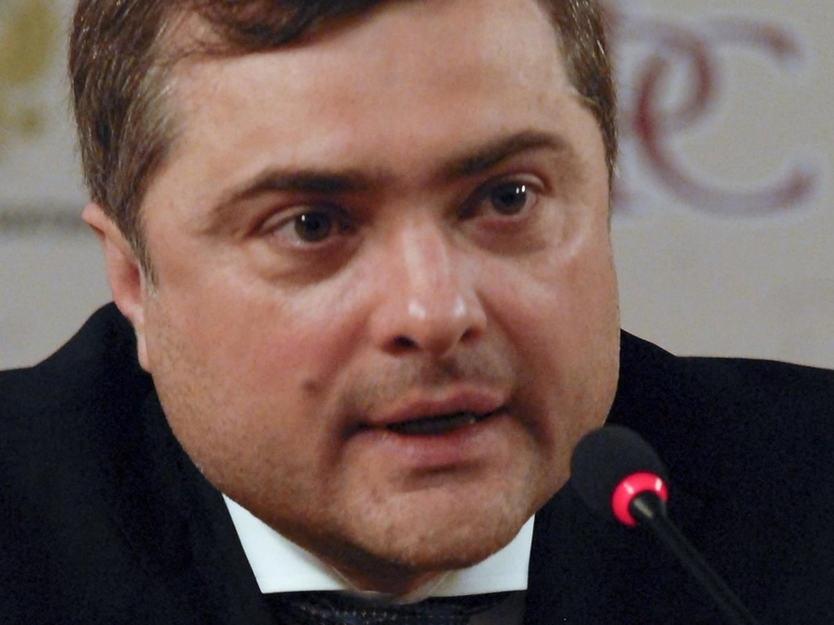 Сурков о возвращении Украины