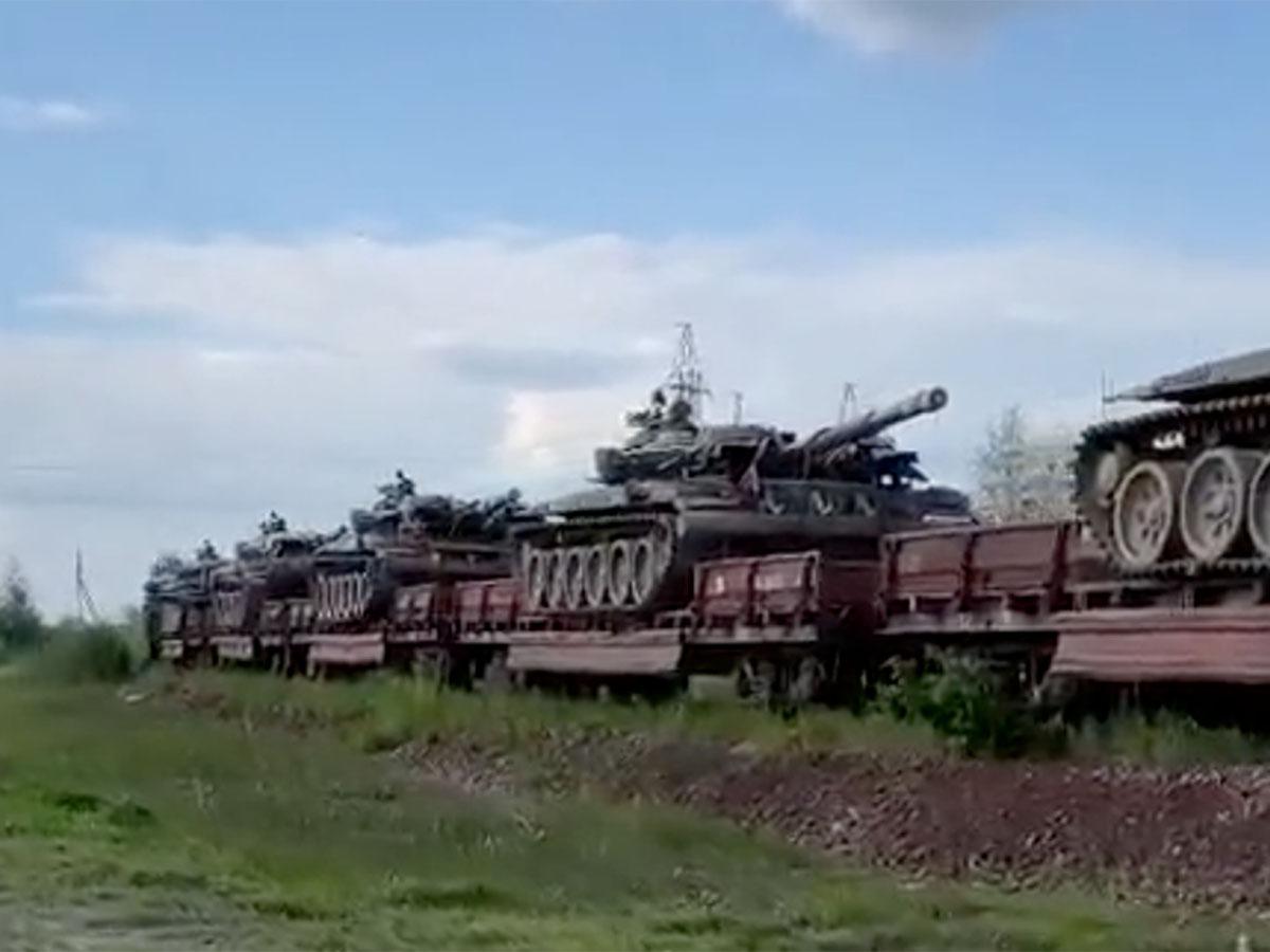 Украина к Крыму танки артиллерия