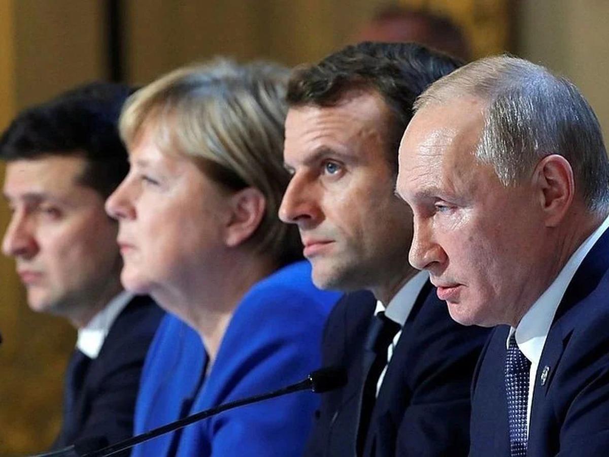 Украина о Минские соглашения