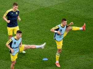 Сборная Украины впервые вышла в плей-офф чемпионата Европы по футболу