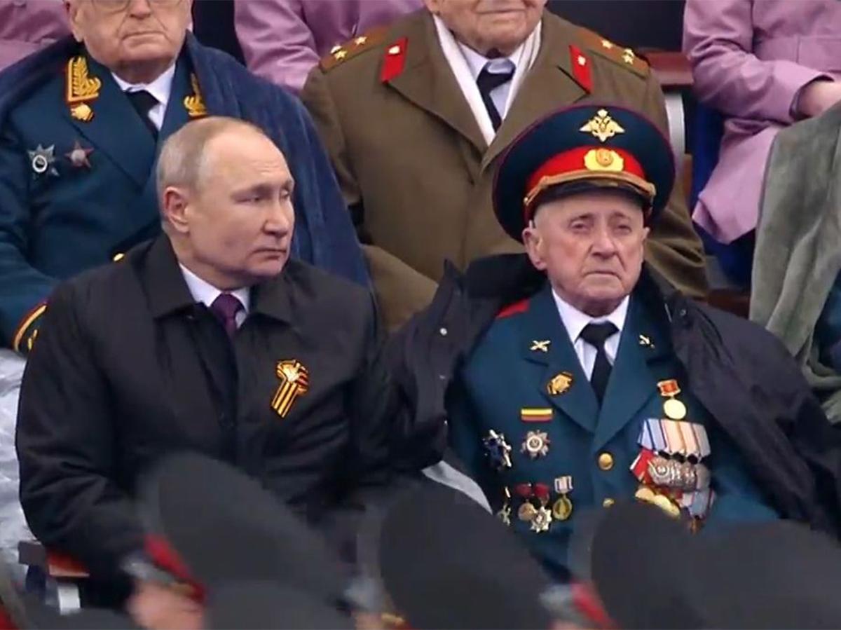 Ветеран Путин