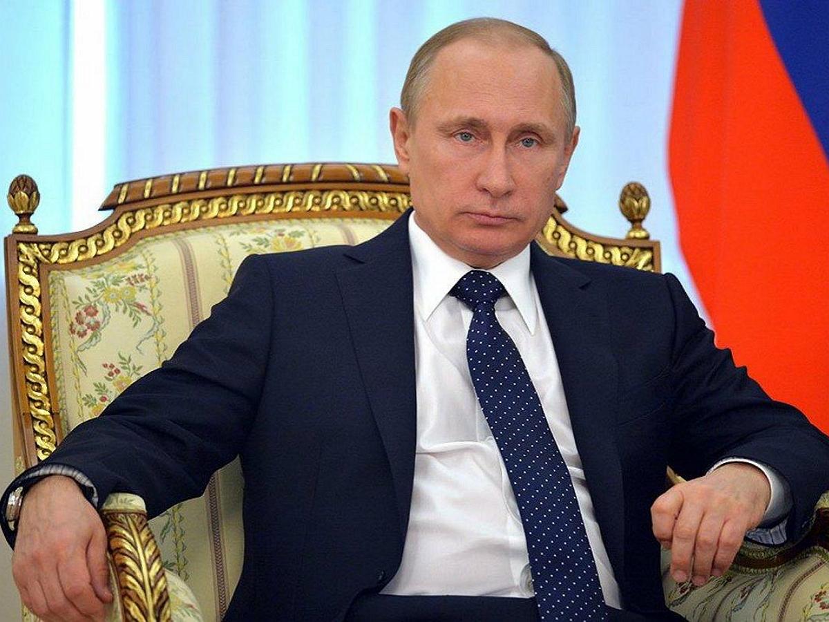 Путин впервые с 2018 года интервью американскому телеканалу NBC News