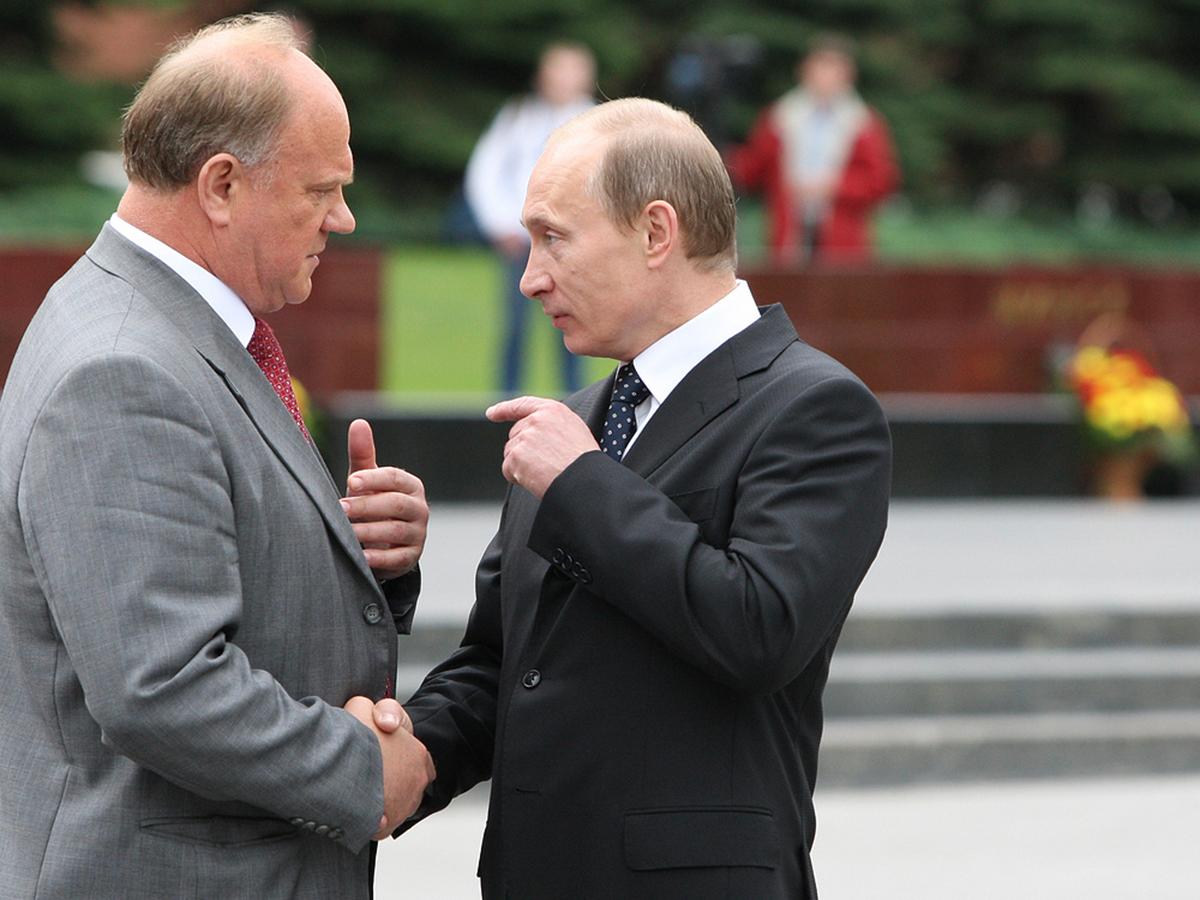 """""""Рухнем в пропасть"""": Зюганов написал Путину грозное письмо, призвав сменить курс"""