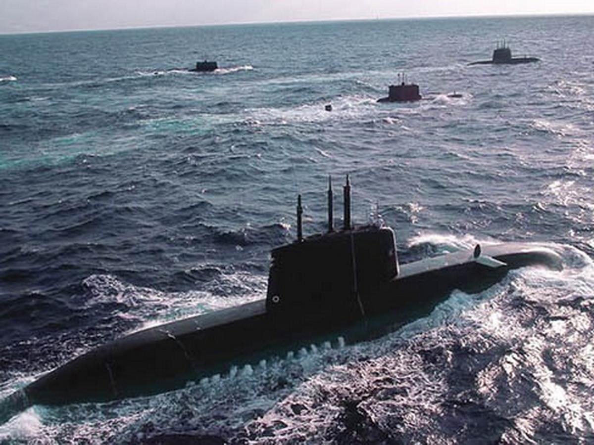 Подводный флот США