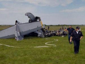 Крушение самолета в Кемеровской области