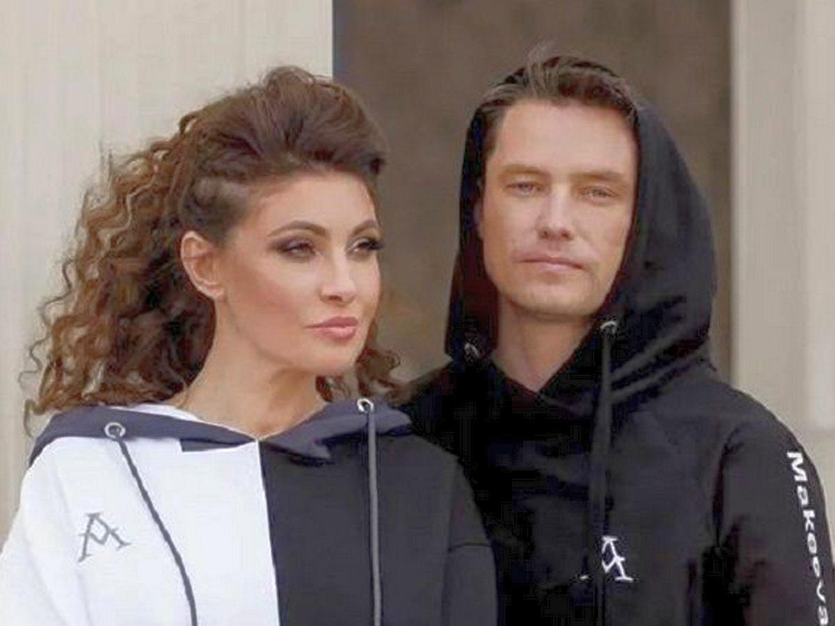 Анастасия Макеева с мужем Мальковым