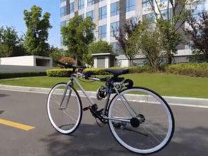 Мужчина упал с велосипеда и ему в голову пришла идея супер-изобретения