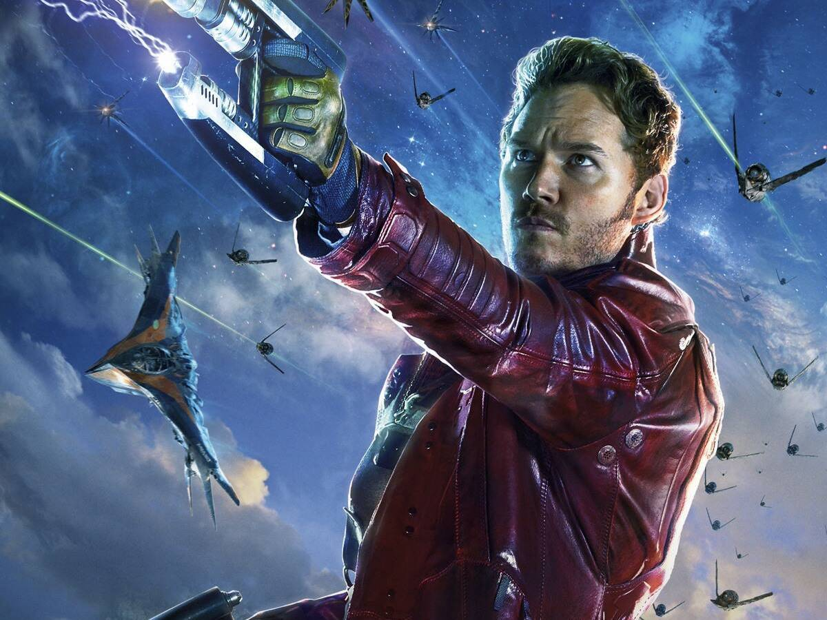 Chris Pratt is Starlord in Marvel's Guardians of the Galaxy Game
