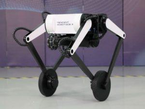 Двухколесный робот научился делать сальто
