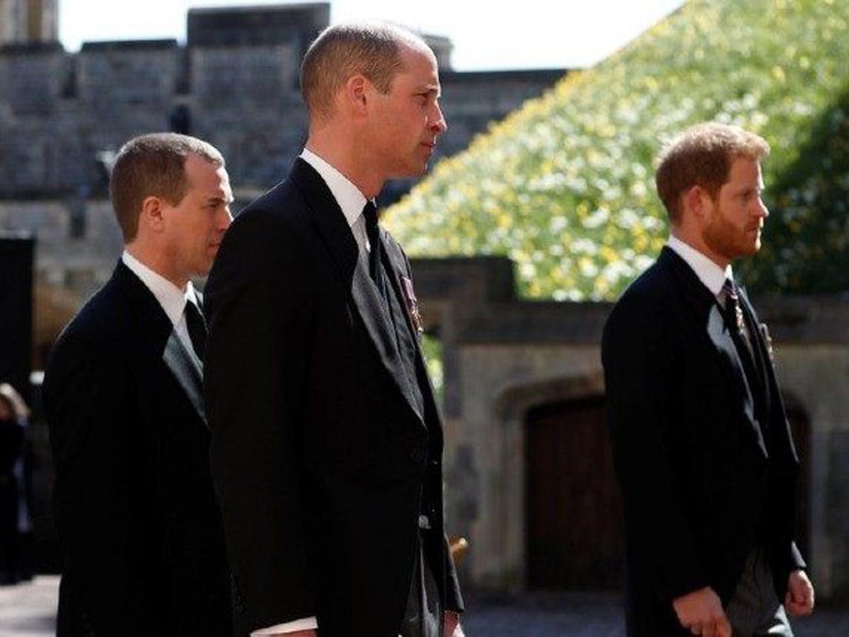 ссора принцев Гарри и Уильяма