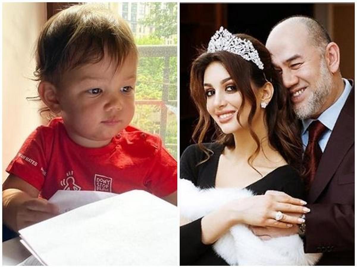 Оксана Воеводина показала поклонникам фото с подросшим сыном короля Малайзии