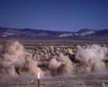 Последствия подземного ядерного взрыва сняли на видео