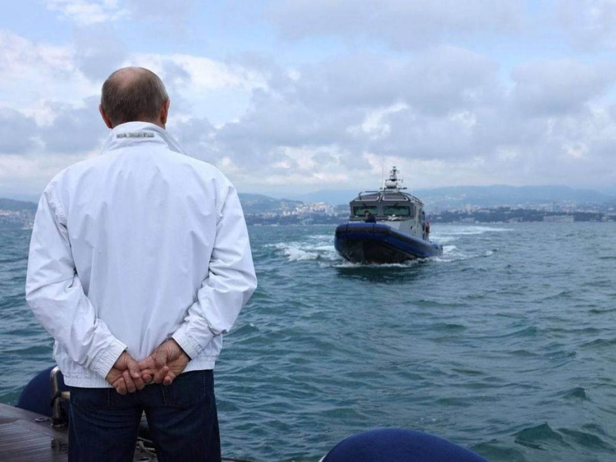 жест Путина на яхте