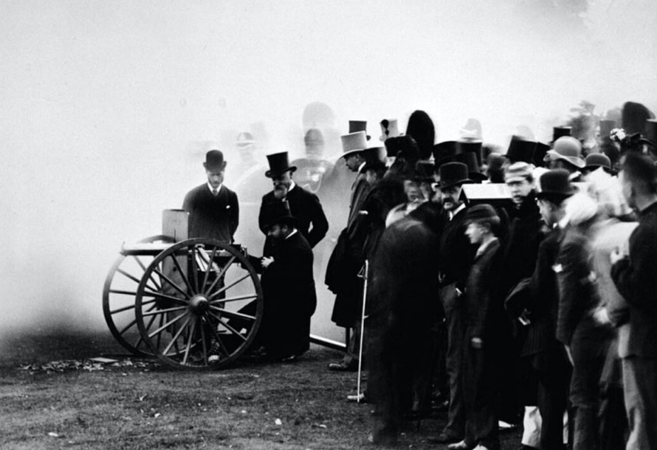 Редкие исторические кадры, которые удалось запечатлеть на пленку. Часть 3