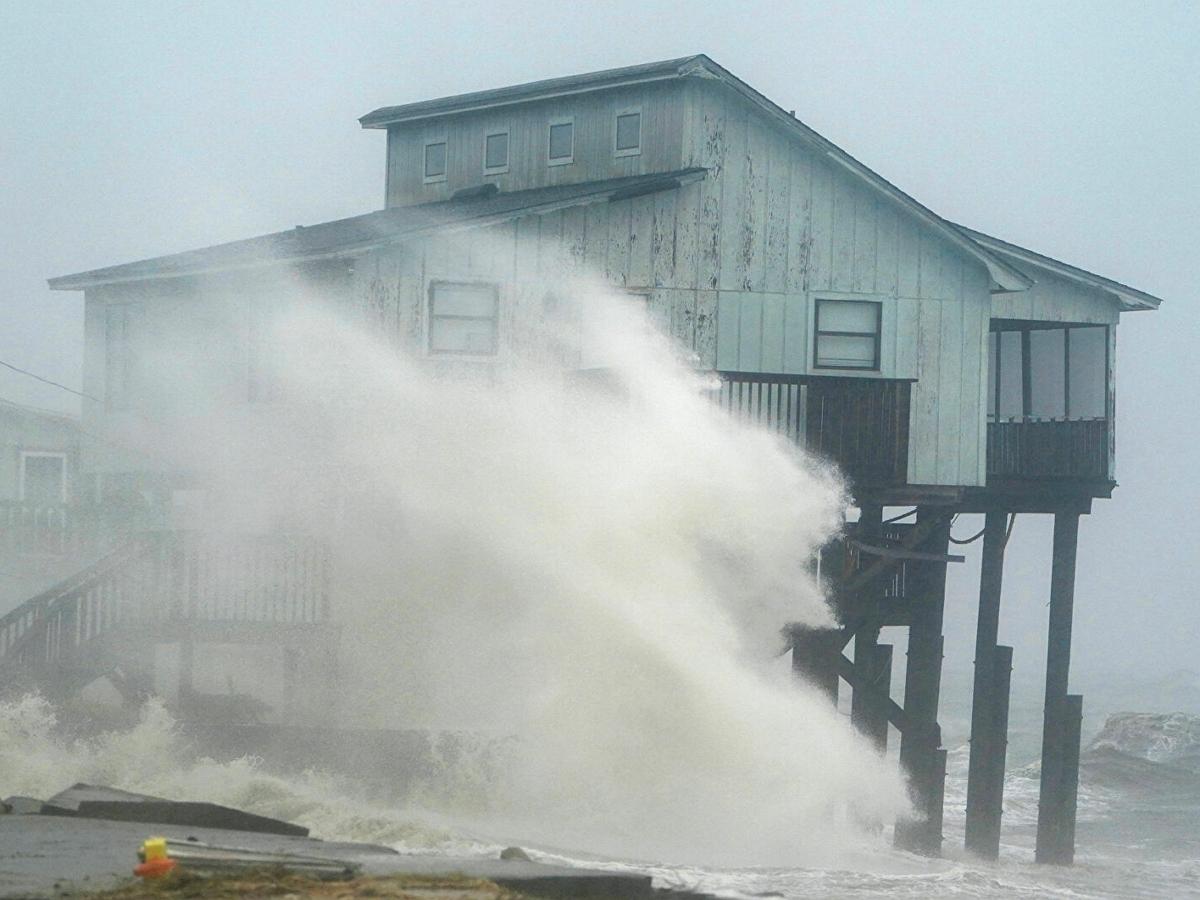 Тропический шторм Эльза обрушился на восточное побережье США