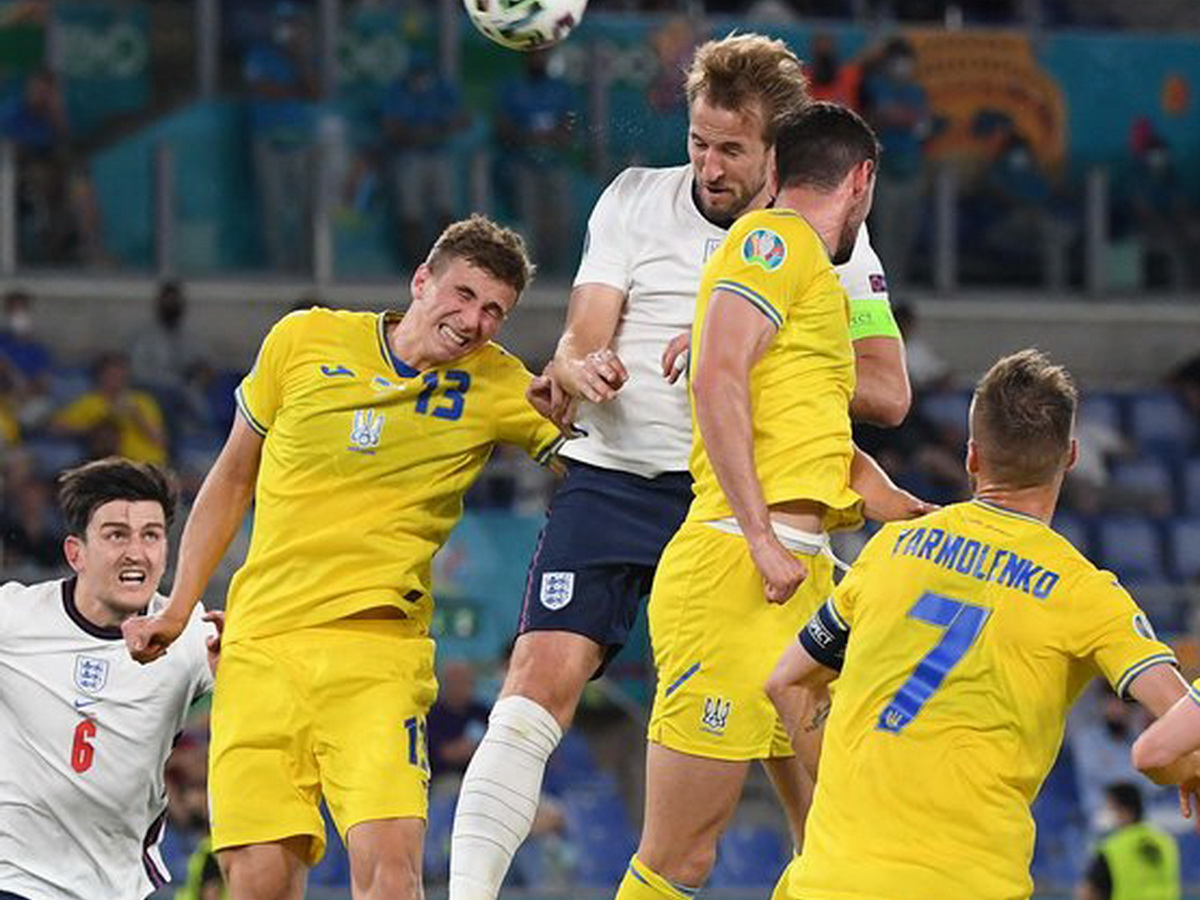 Англия разгромила Украину