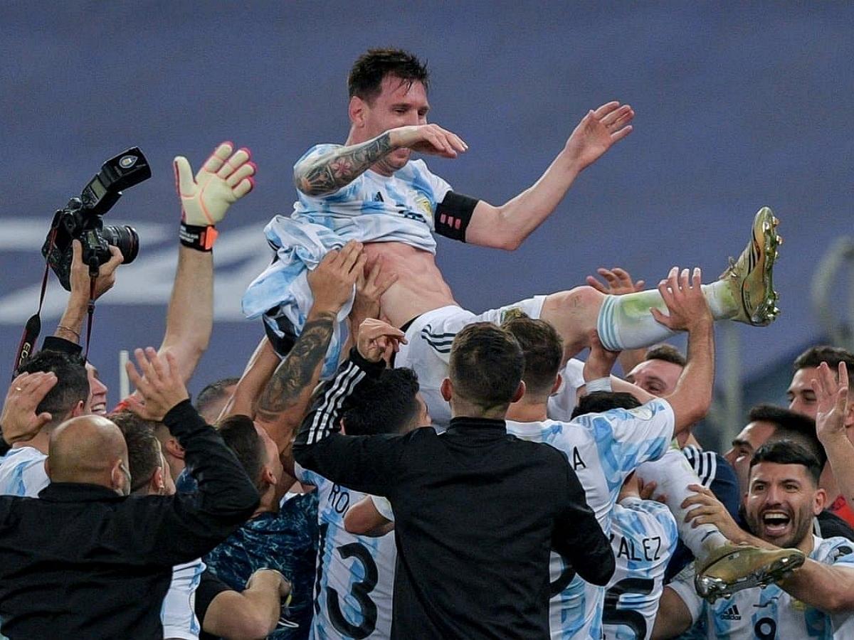 Сборная Аргентины стала обладателем Кубка Америки, обыграв Бразилию