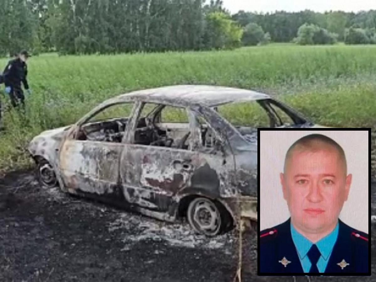 Барнаул сожгли участкового