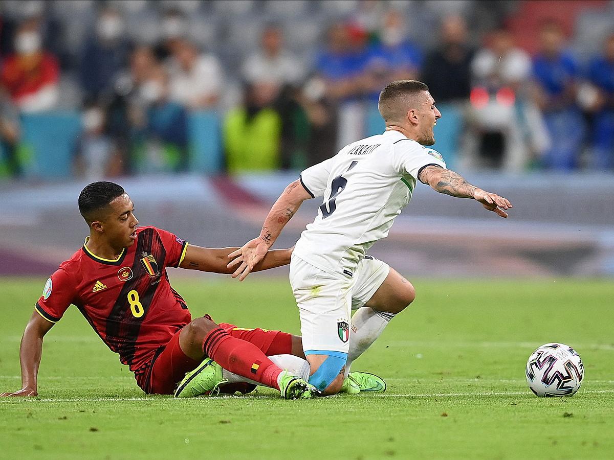 Италия обыграла Бельгию, став вторым полуфиналистом Евро-2020
