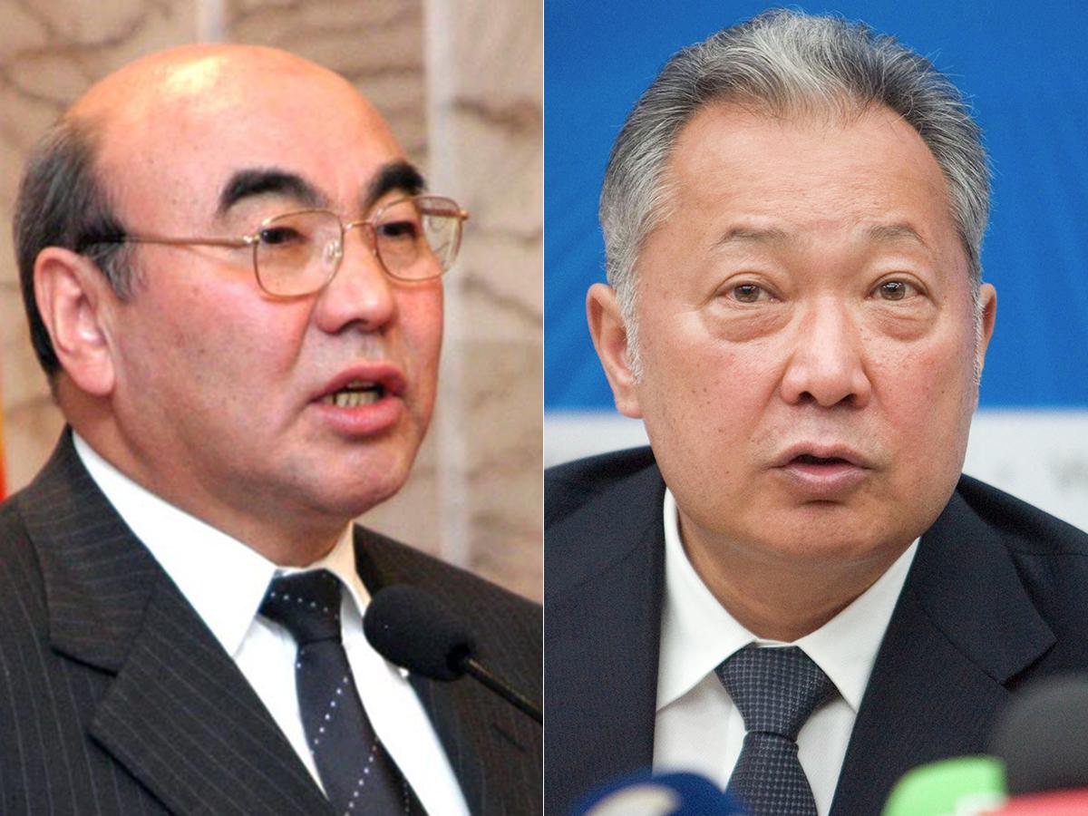 Бывшие президенты Киргизии
