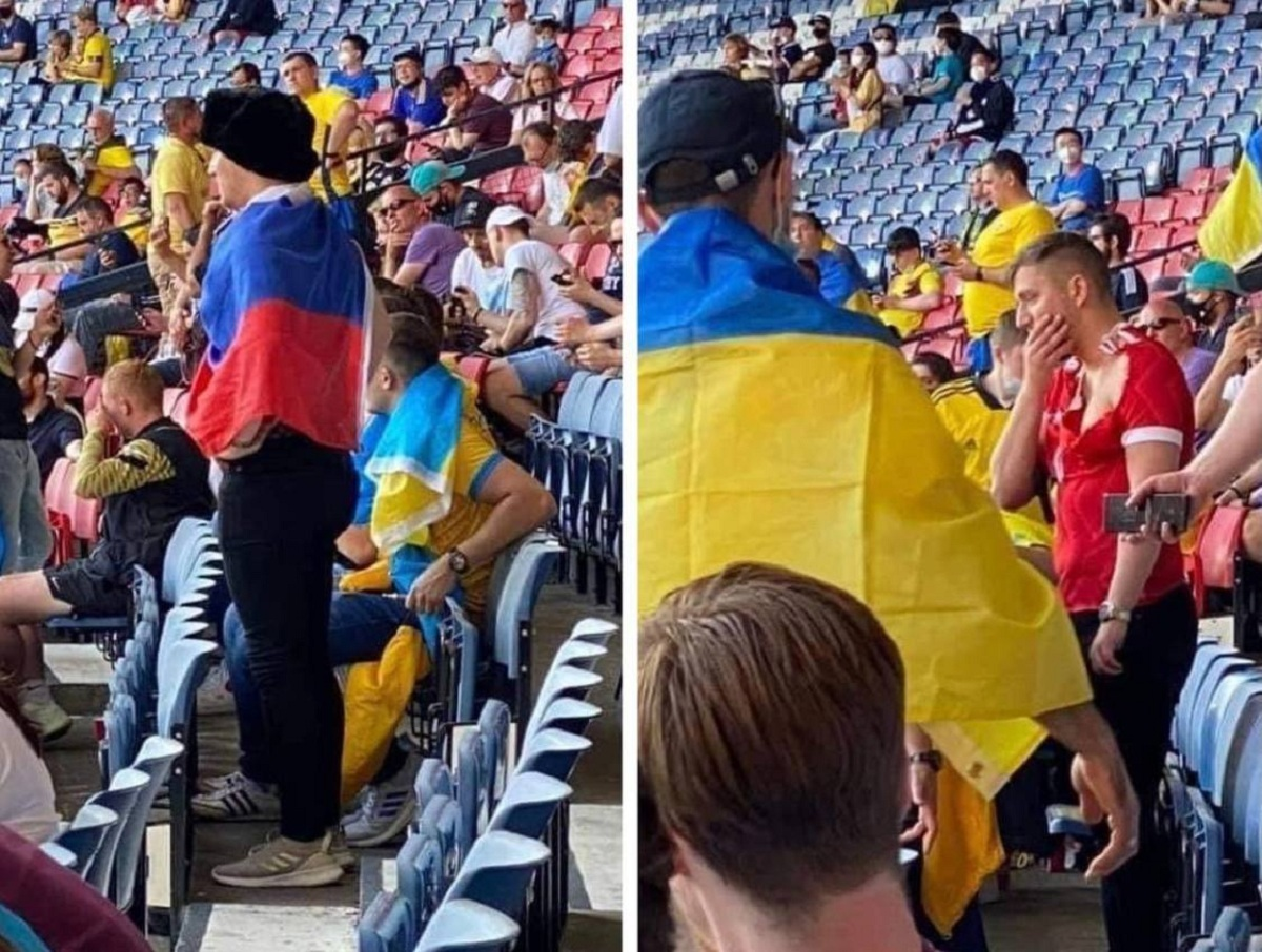 Украинца, избившего русского болельщика на Евро-2020, задержали в Глазго