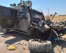 Бронеавтомобиль РФ в Сирии