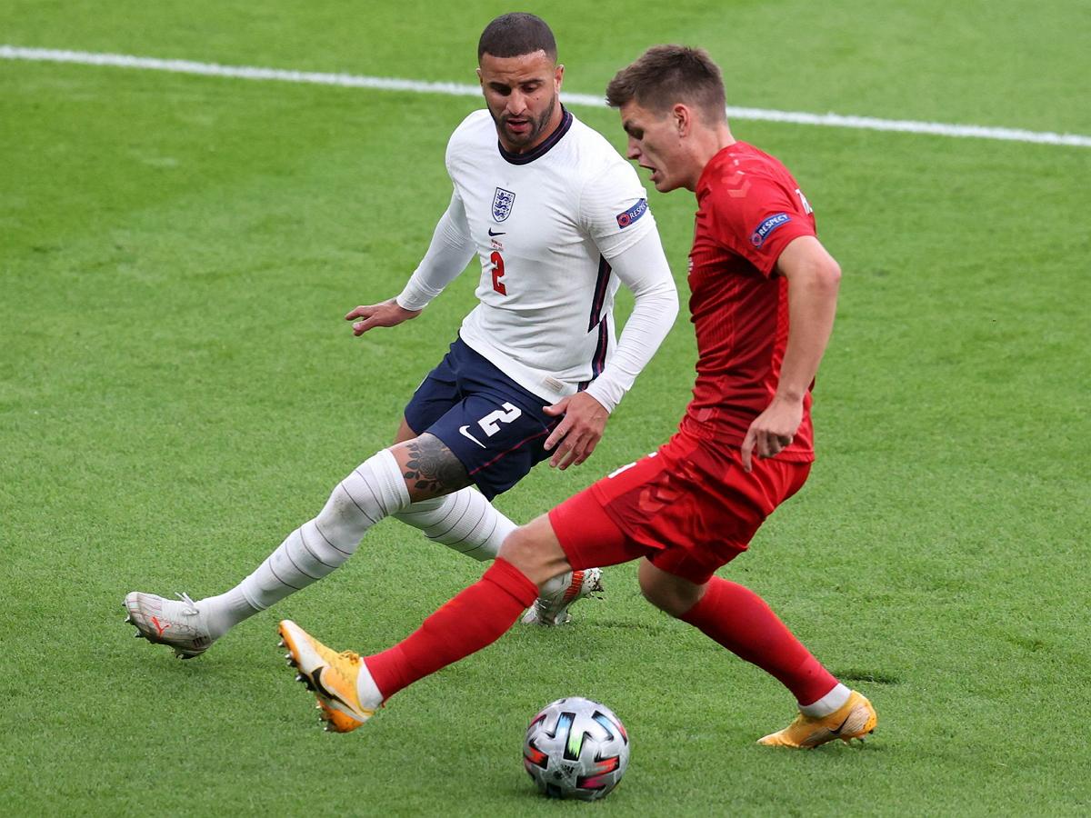 Англия впервые в истории вышла в финал Евро-2020, обыграв Данию
