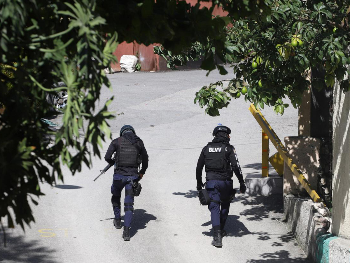 Убийство президента Гаити