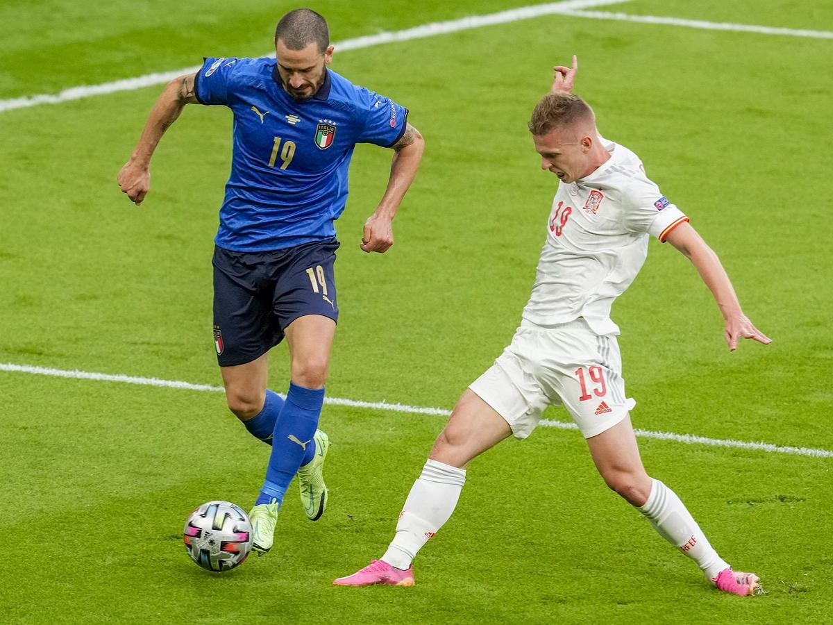 Италия вышла в финал Евро-2020, обыграв по пенальти Испанию