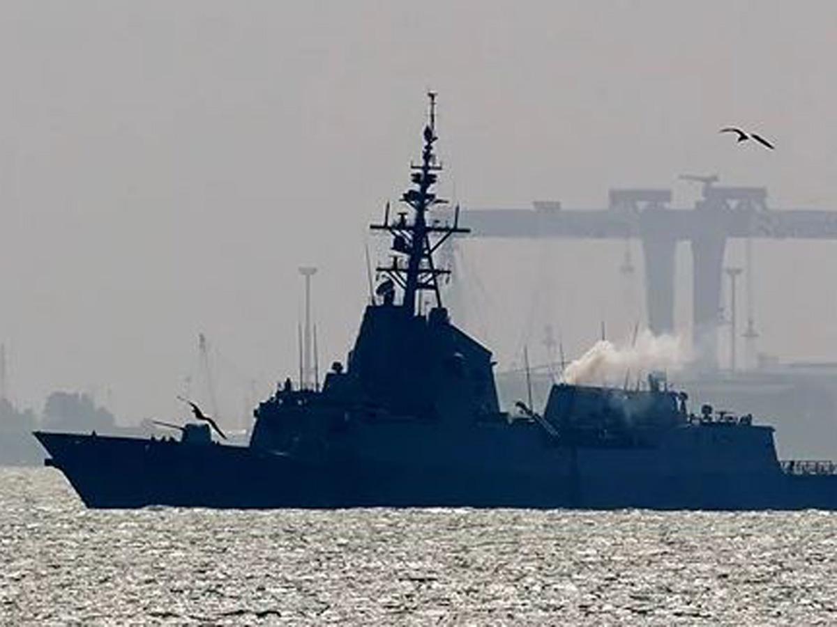 Итальянский фрегат Черное море