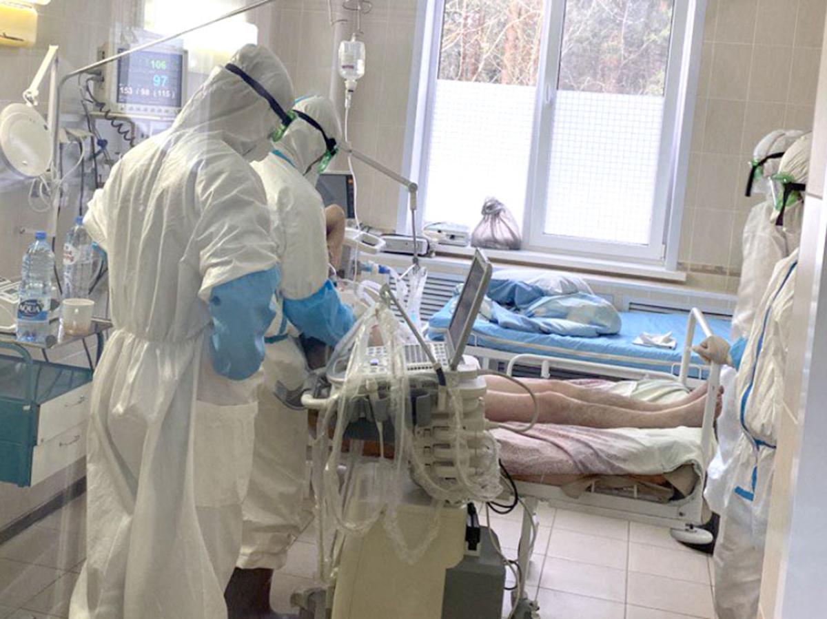Коронавирус в больнице