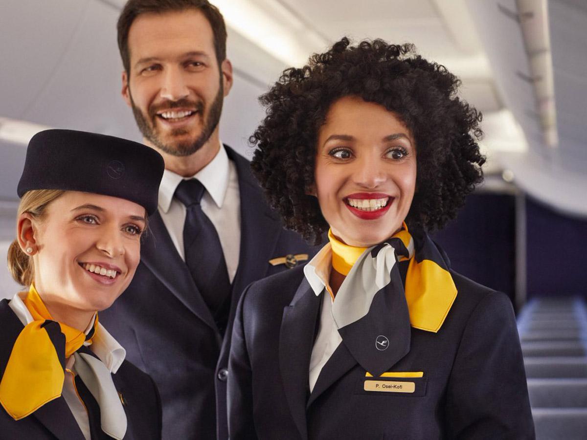 Lufthansa «Дамы и господа!»